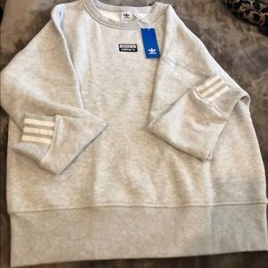 Women's New Adidas Sweatshirt Size M